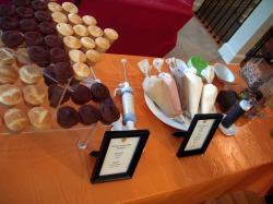 Interactive Cupcake Bar Set Up